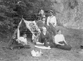 Svatojánské proudy, Tábor řvavých  r.1917,www.svatojanske-proudy.cz